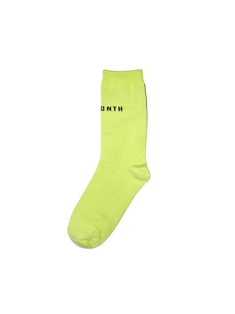 13MONTH X I HATE MONDAY_STRIPE UNISEX SOCKS(RIME)
