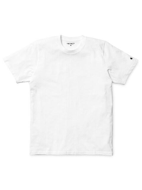 S/S BASE T-SHIRT (WHITE/BLACK)
