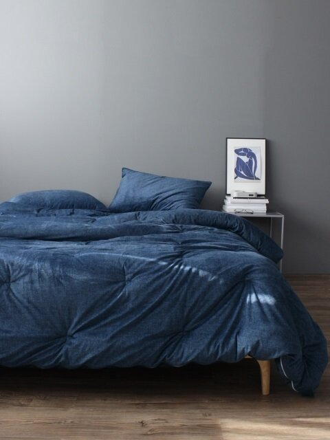 Signature high density comforter_ Navy.
