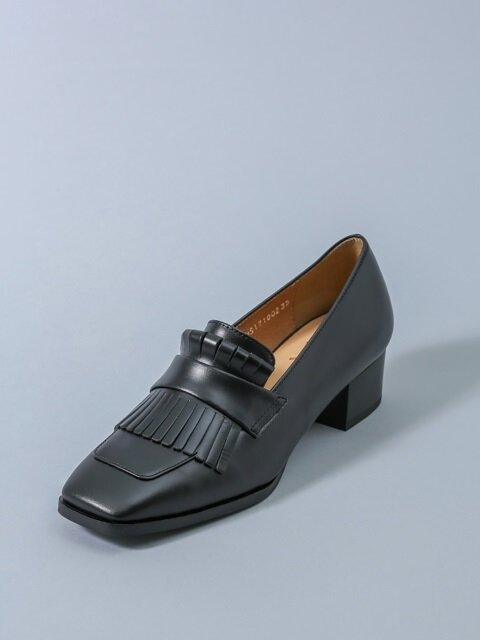 Tassel Loafer_Black HS1710