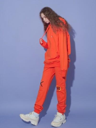Open your Sweatpants_Orange
