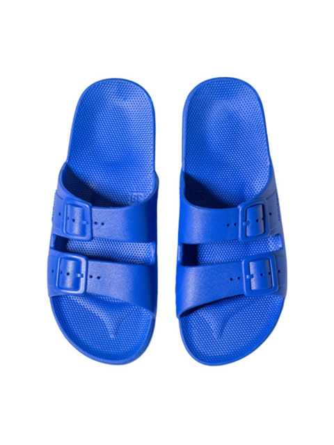 MOSES WOMEN FREEDOM SLIPPERS BLUE
