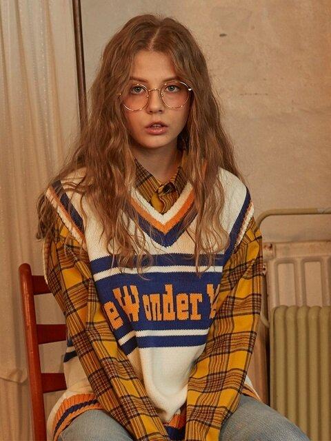 Wonder Year Knit Vest (Ivory)