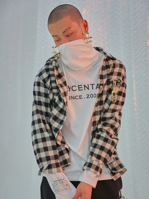 Baby Scoff Check Shirts [White]