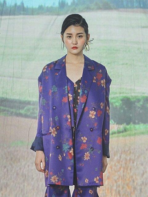 WILD FLOWER JACKET Series1 [Purple]