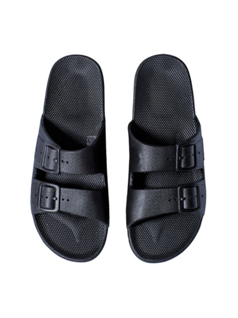 MOSES WOMEN FREEDOM SLIPPERS BLACK