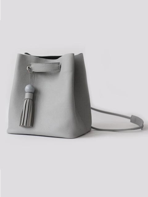 Yolo bucket bag (Gray)
