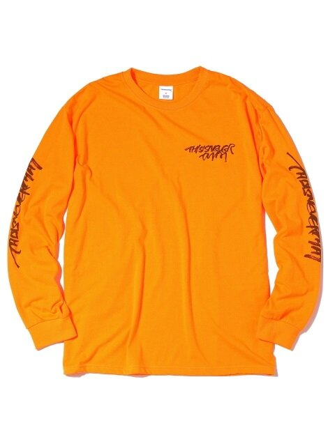 CA-Logo L/SL Top Neon Orange