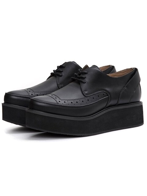 Leather Clipper Shoes 02