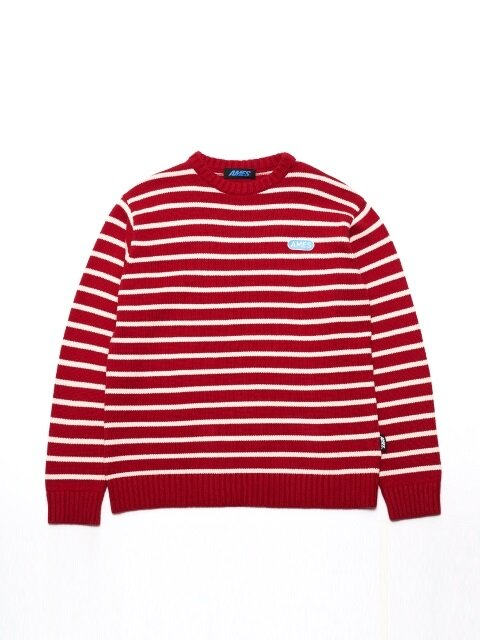 AMES STRIPE KNIT / RD