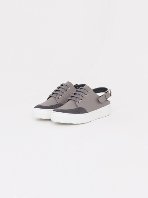 30mm Backless Surf Sneakers (Grey)