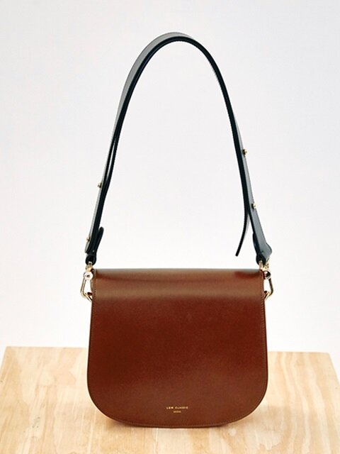 16FW COLOR BLOCK BAG - BROWN