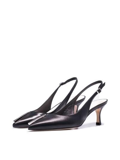 SEMEI slingback heel -  HN035-SHBK
