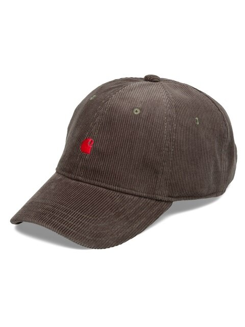 MADISON LOGO CAP (TAR/BLAST RED)