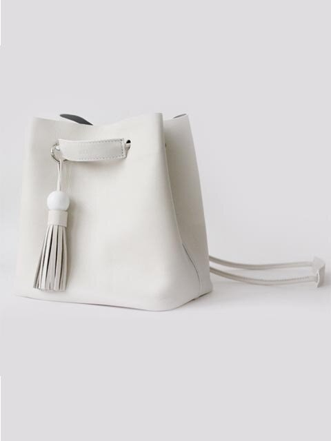 Yolo bucket bag (white)