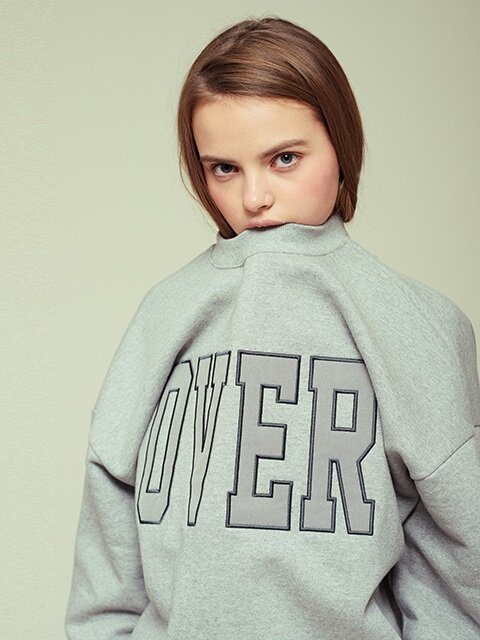 [15% SALE, 2/24일 순차예약배송] OVER SWEATSHIRT GR