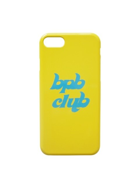BPB CLUB LOGO IPHONE CASE HS_YELLOW