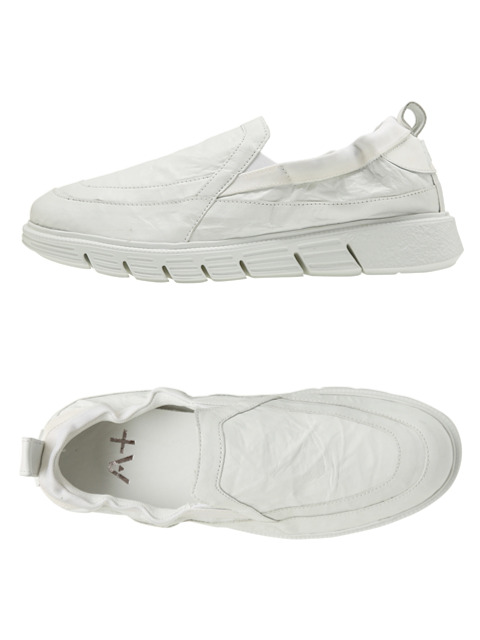 APLUS MAN WHITE FOLYO SLIP ON
