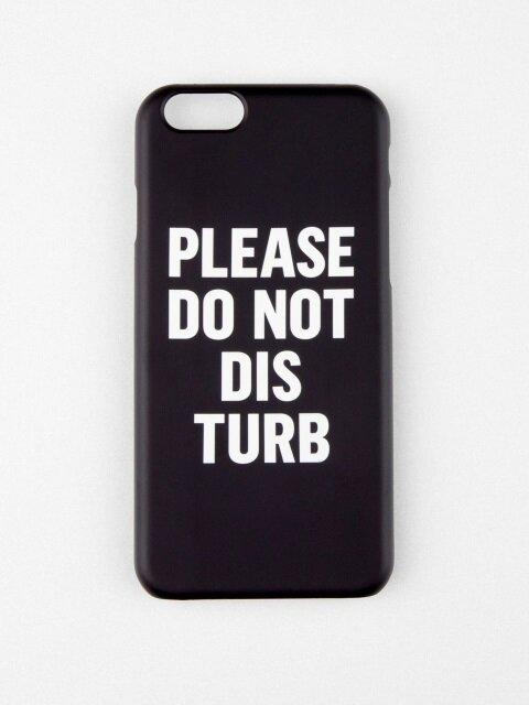 DO NOT DISTURB IPHONE CASE_BLACK