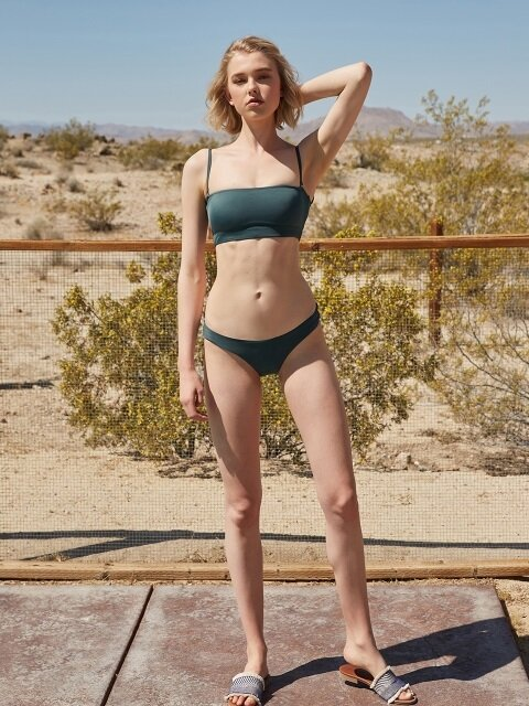 MODERN BIKINI PANTS_DEEP GREEN