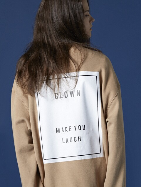 CLOWN PATCH SWEATSHIRT (CM)