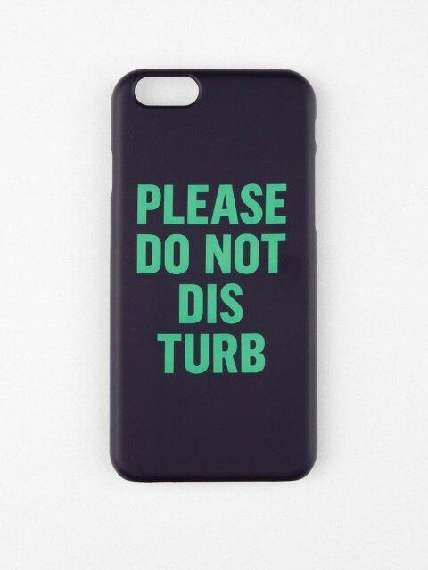 DO NOT DISTURB IPHONE CASE_NAVY