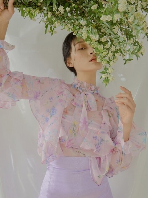 Magnolia Blouse [Pink]