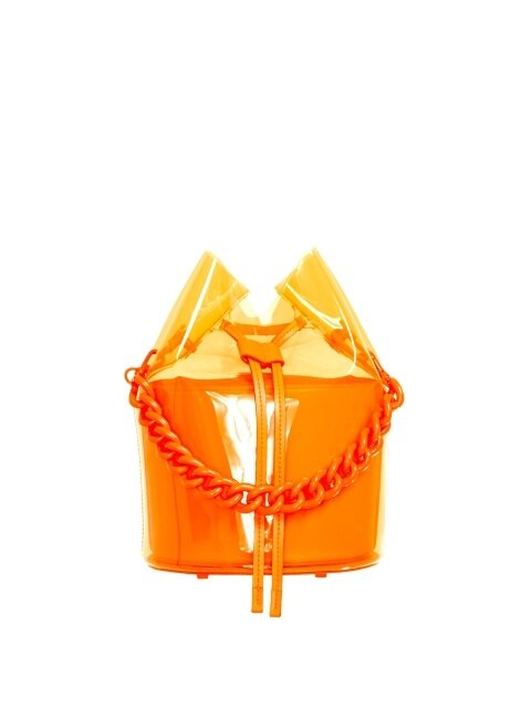 SPARKLING BAG - NEON ORANGE