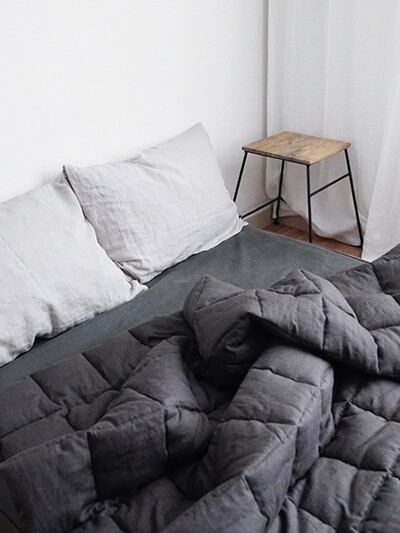 square comforter bedding   deep gray(48)-14온수