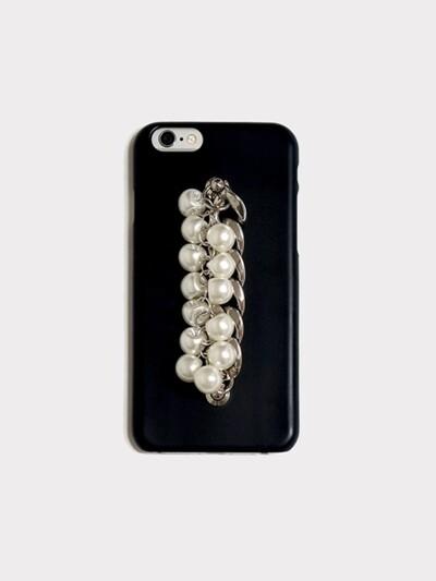 pearl chain black case
