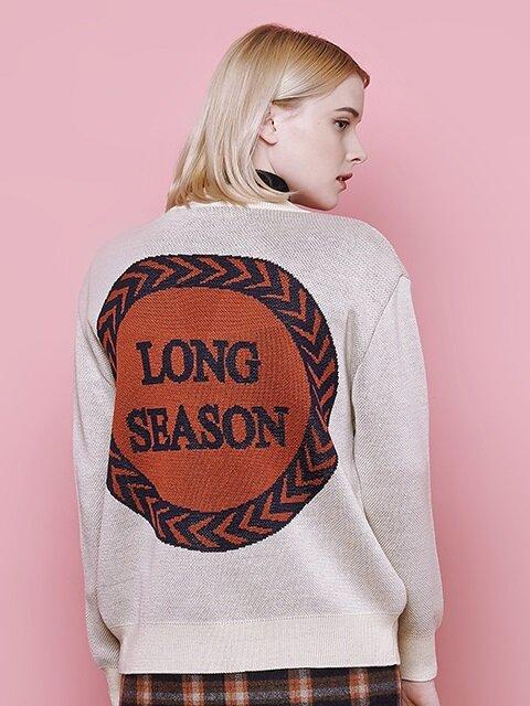 long season v neck cardigan