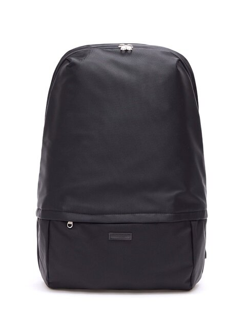 EDDIE NYLON BLACK LAPTOP BACKPACK