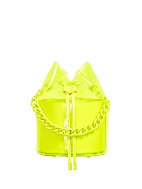 SPARKLING BAG - NEON LIME
