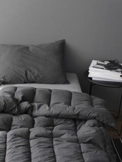 Tranquil dark charcoal washing comforter (SS/Q)