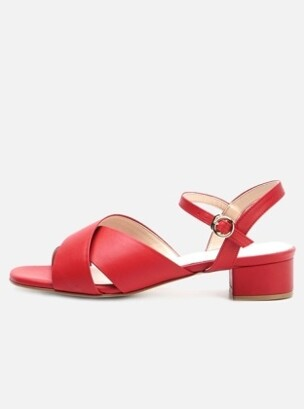 Classic X strap Red 3303-4 (kip leather)