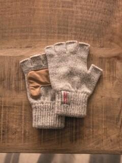 Fingerless Glove, Traditionl Grey