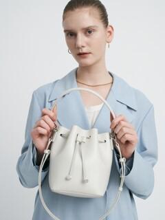Bucket Bag Cream Mini