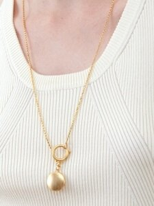 Loket Long Necklace