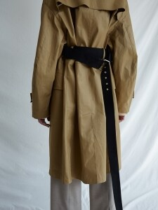 MM BELTED Mc COAT