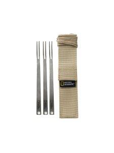 Titanium Fork 3pcs NG NHS501 캠핑용품 티타늄포크세트