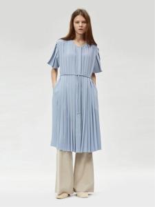 17FW PLEATED DRESS (BABY BLUE)