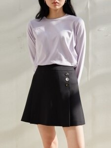 CARENA SKIRT - BLACK