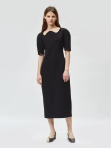 17FW STRUCTURED DRESS
