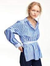 [FRONTROW x RECTO.] Detachable-cuffs shirts_Stripe