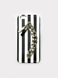 black & white tassel case