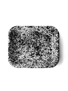 roasting pan black marble