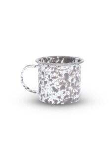 mug grey marble