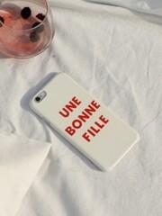 Une Bonne Fille iPhone Case
