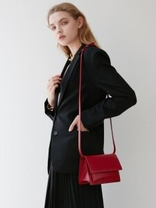 Classic Bag Garnet-Red Mini