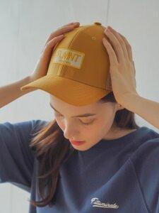 UNISEX 6 PANEL SHAPE MESH CAP-Yellow